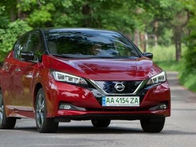 Nissan Leaf начали официально продавать на рынке Украины